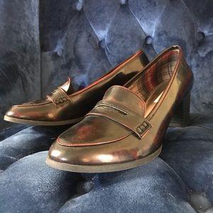 AEO heeled loafers sz 12 like new 💎✨